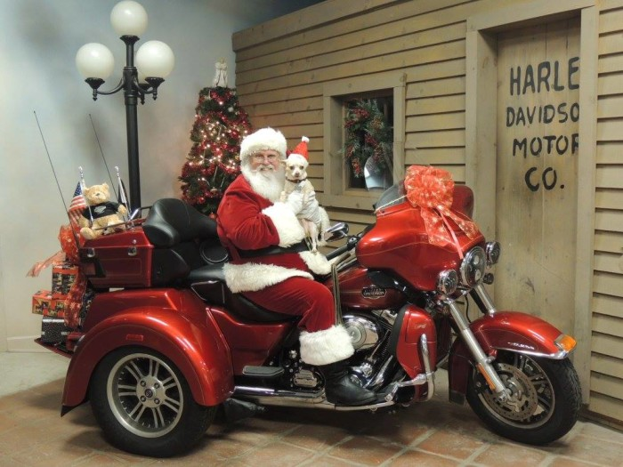 9. Speaking of Santa, you can find him all over the state.