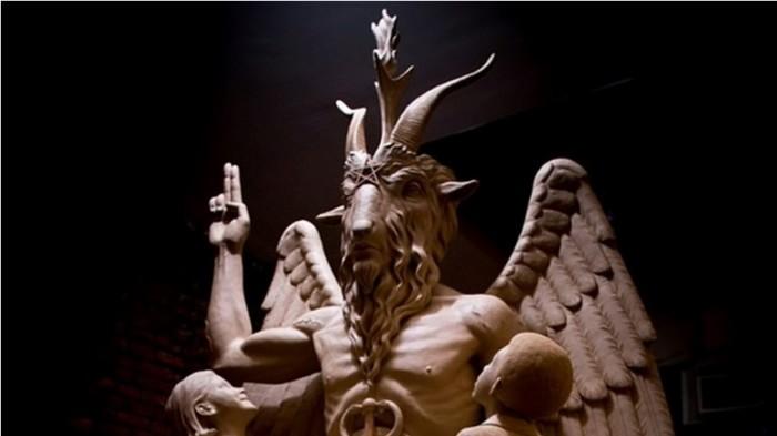 4) Satanic Temple Baphomet statue unveiling.