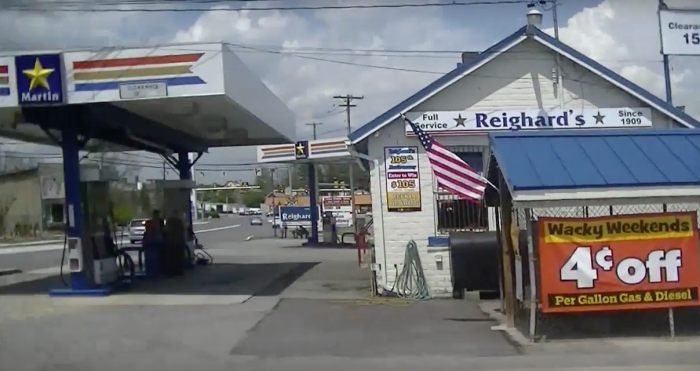 9. The oldest gas station in the country is Reighard's in Altoona.