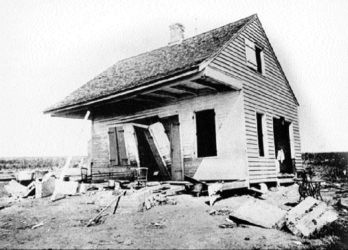 10) 1893 Cheniere Caminada Hurricane