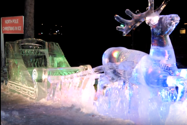 Here Are The 9 Best Christmas Displays In Alaska.