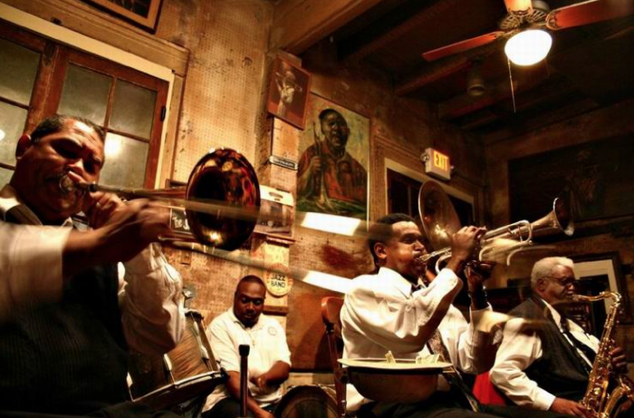4. Everyone in Louisiana listens to Jazz all the time.