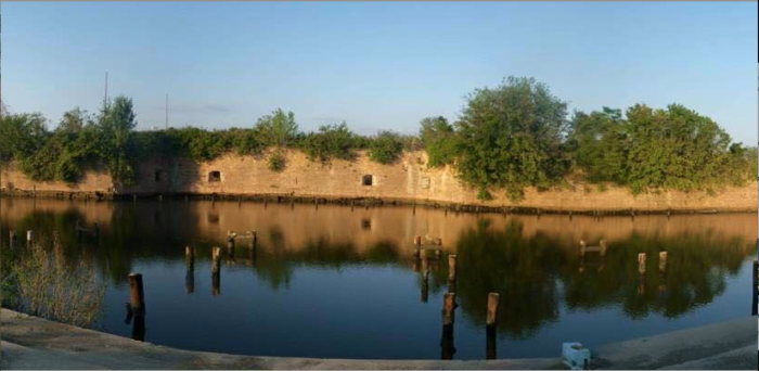6. Fort Macomb, Outside of New Orleans