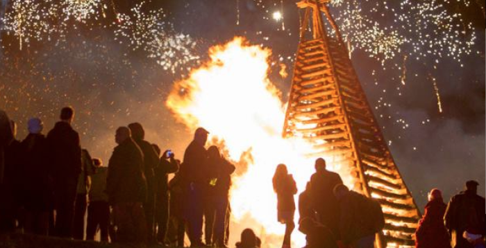5. Two words: The bonfires. They are simply incredible!