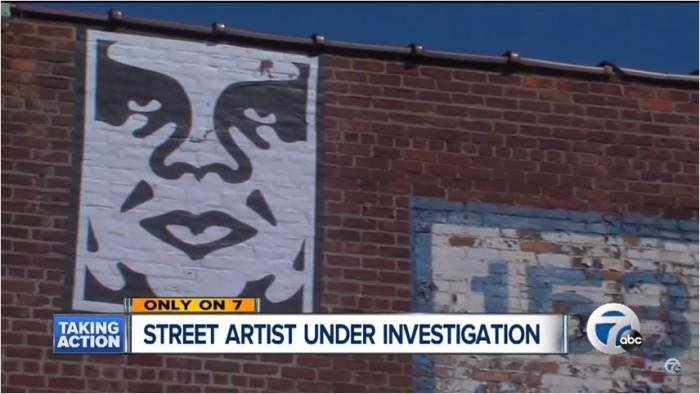 3) Renowned street artist Shepard Fairey arrested for vandalism in Detroit.