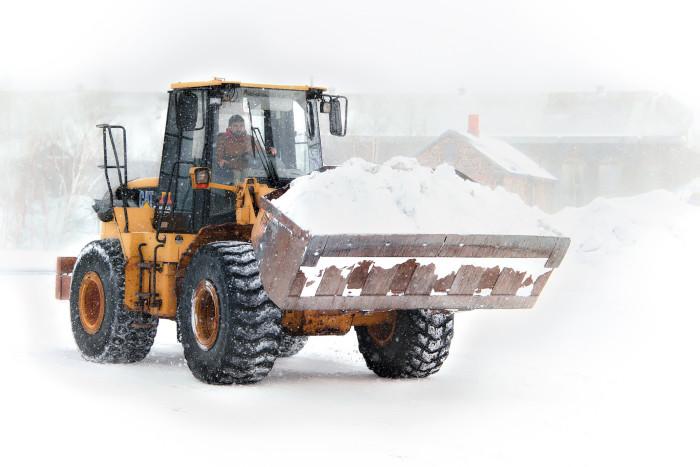 9) Snow shovel