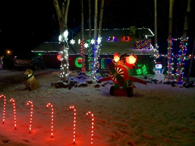 decor lighting anchorage. 2  An Impressive Setup In South Anchorage The 8 Best Places To See Christmas Decorations In Alaska