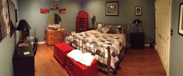Spongie Acres B&B room.