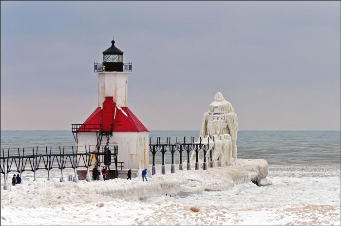 St. Joseph Lighthouse, after