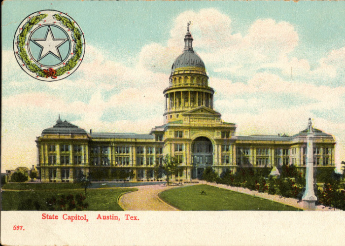 12. This gallery ends with none other than a restored picture of our state capitol. Even in 1906, it was still bigger than the nation's capitol.