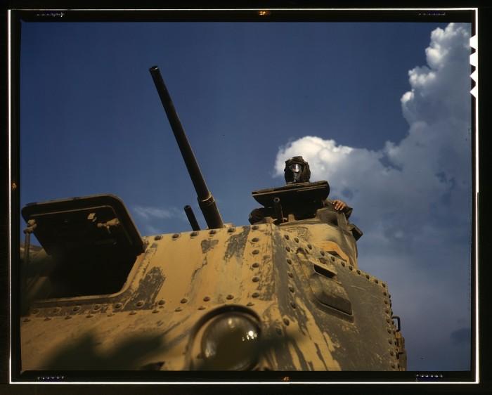 6. Tank Commander, 1942.