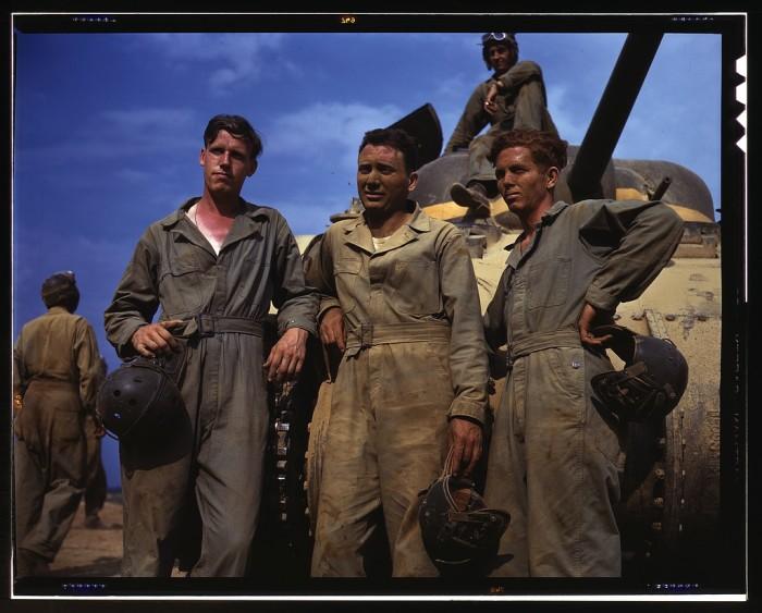 5. Tank crew in spring of 1942.