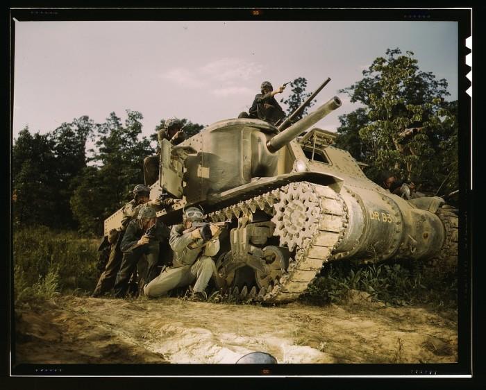 4. Tank crew.
