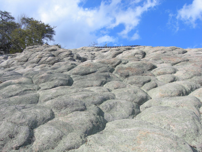 10.The Chain Rock at Pine Mountain