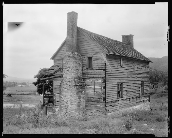 23. The McDonald's farm near Fincastle in Botetourt County, 1934.