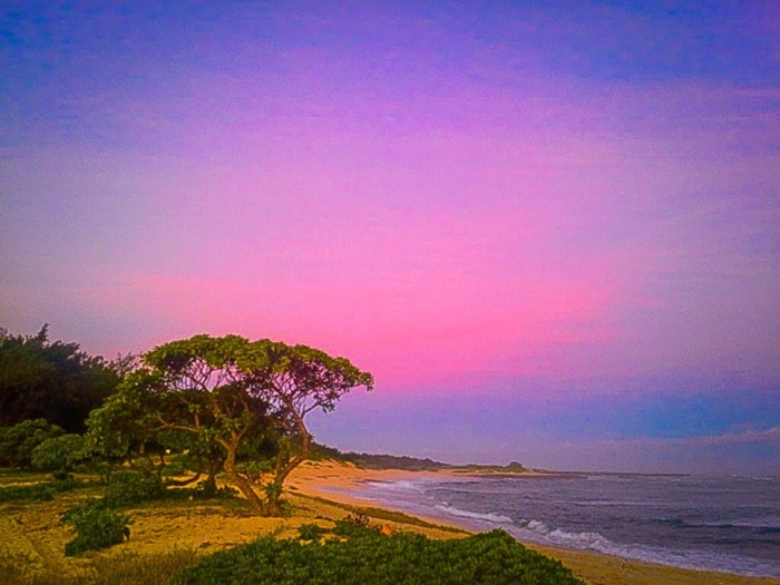 10) The colors in this photograph taken near Oahu's Turtle Bay Resort are breathtaking.