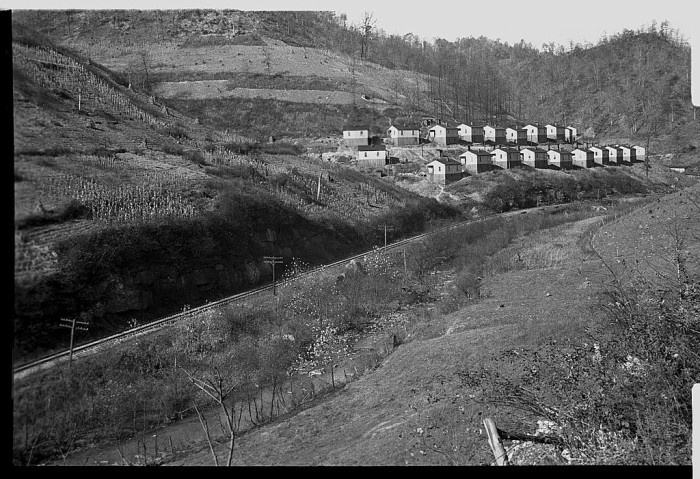 5.  The heart of a coal mining town in Jenkins via 1935.