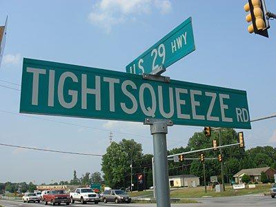 1. Tight Squeeze, Pittsylvania County