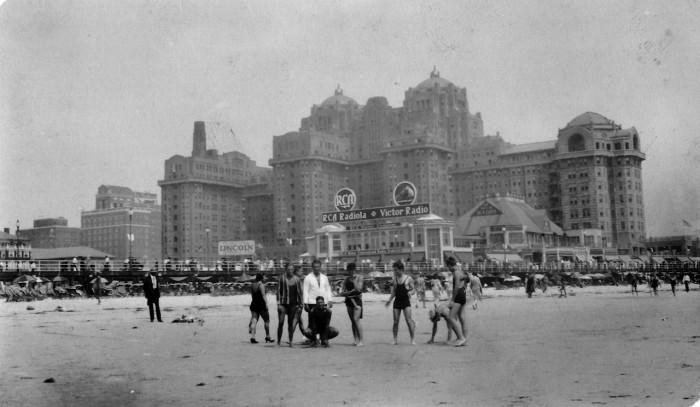 17. The Traymore Hotel in Atlantic City circa 1930.