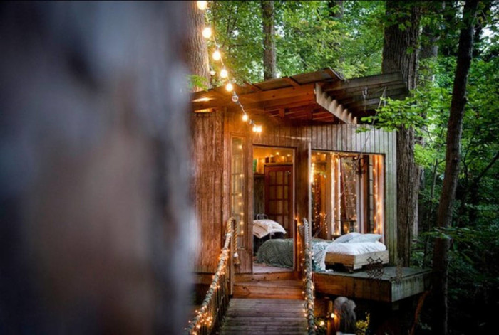3. Secluded Treehouse in Atlanta