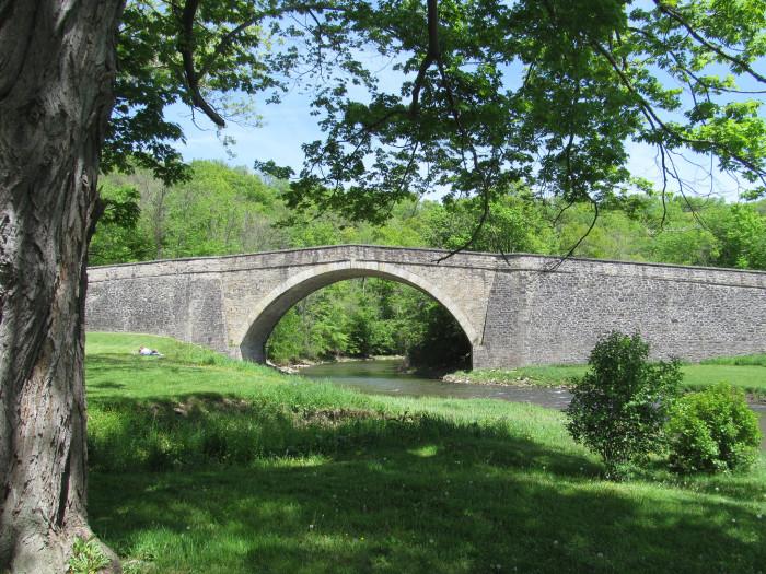 2) Casselman River Bridge State Park, Grantsville