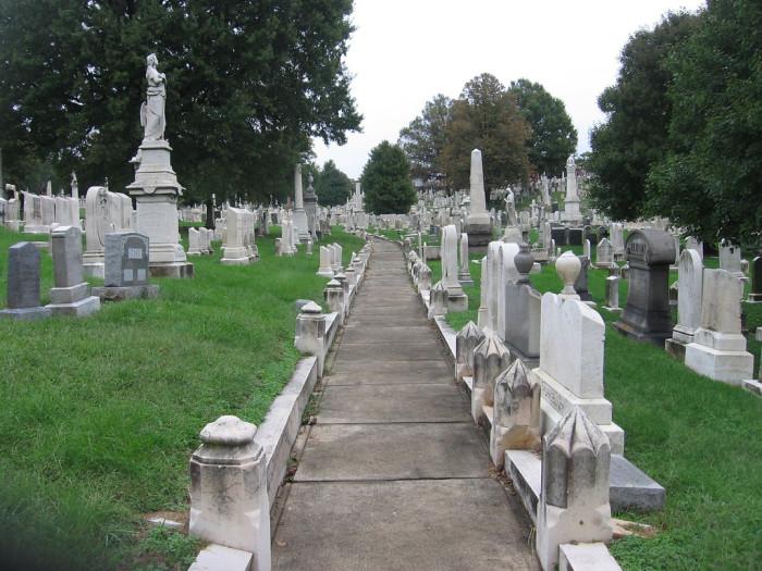 12) Greenmount Cemetery, Baltimore