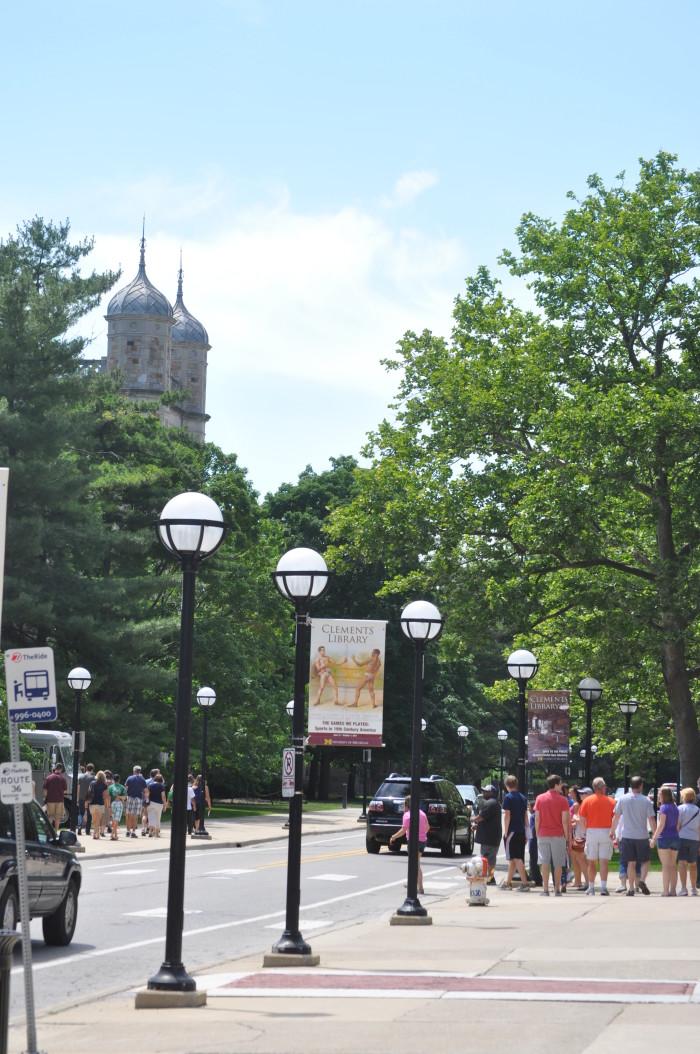 4) University of Michigan, before
