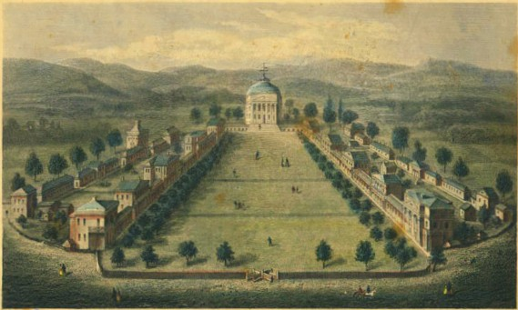 4. THEN: The University of Virginia in its entirety, 1856