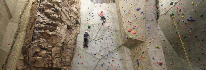 6. Indoor Rock Climbing