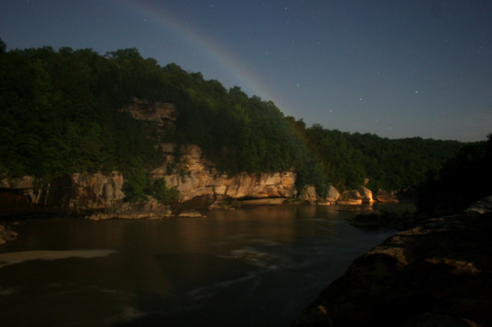 14. Watch for a moonbow at Cumberland Falls.