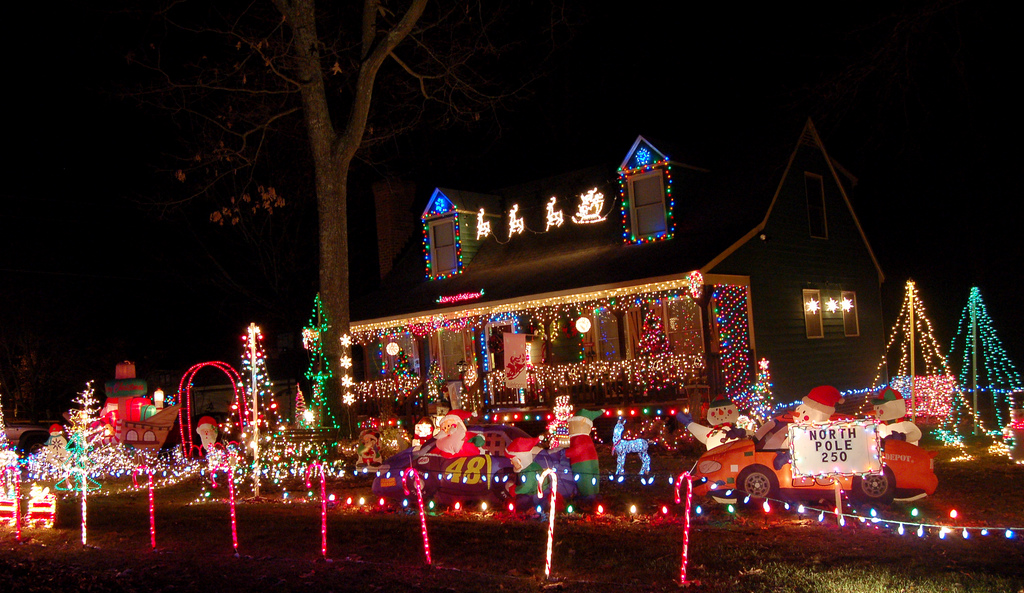 Christmas Lights In Philadelphia