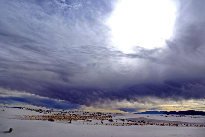1. White Sands, Near Alamogordo