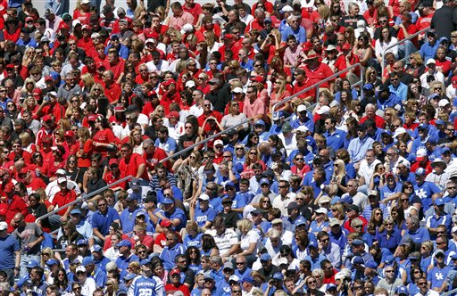 1. Why do Kentuckians wear so much blue and red?