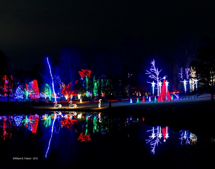 9. Winter Walk of Lights at Meadowlark Botanical Gardens, Vienna