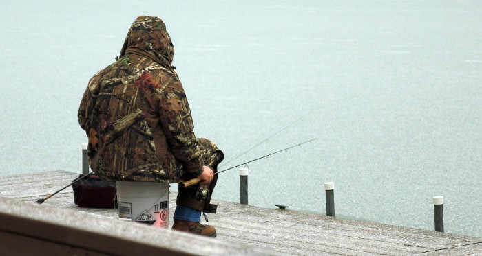10. Grab your fishing pole and head out on the water.