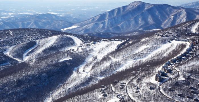 4. Discover Virginia's ski resorts.
