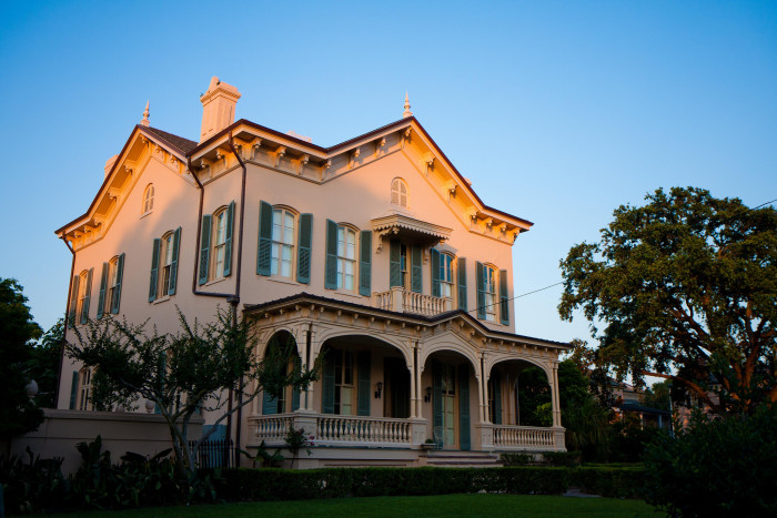 4. An amazing New Orleans home in the Spanish style.