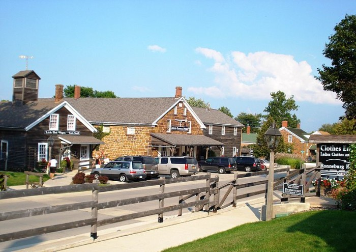 11. Experience German culture at the charming Amana Colonies.