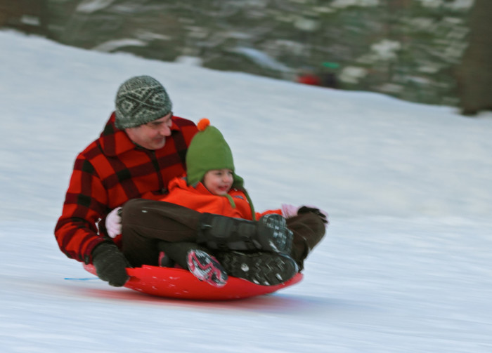 4. And the sled
