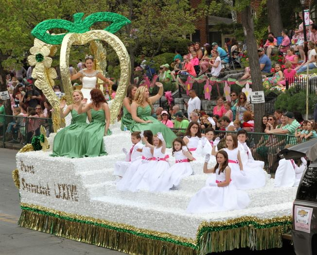 13. Meet the Apple Blossom Queen at the Shenandoah Apple Blossom Festival in Winchester.