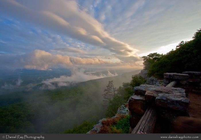 Arkansas: Southern Overlook on Mount Magazine