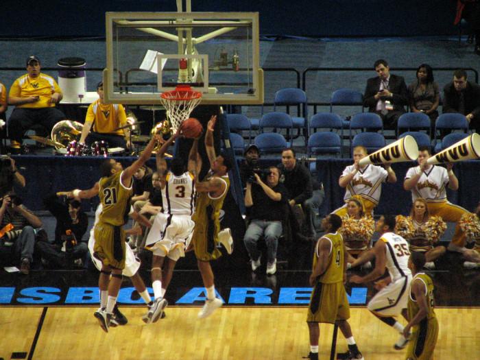 10. Avoiding WVU men's basketball
