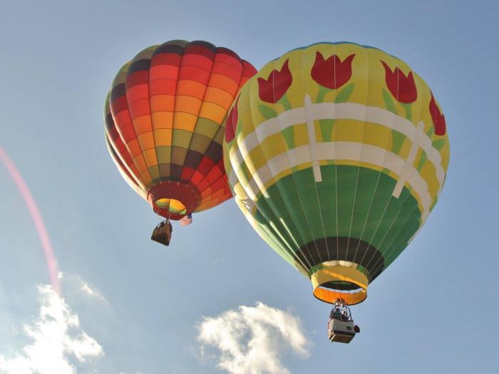 BONUS ACTIVITY: Go watch a balloon launch at the Balloons Over Anderson hot air balloon festival.
