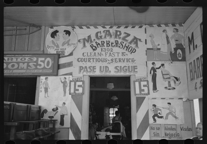 I've always wanted to go to an old-fashioned barbershop.