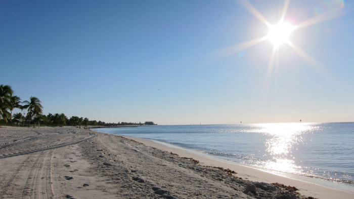 9. A beach in Florida sure sounds nice right about now.