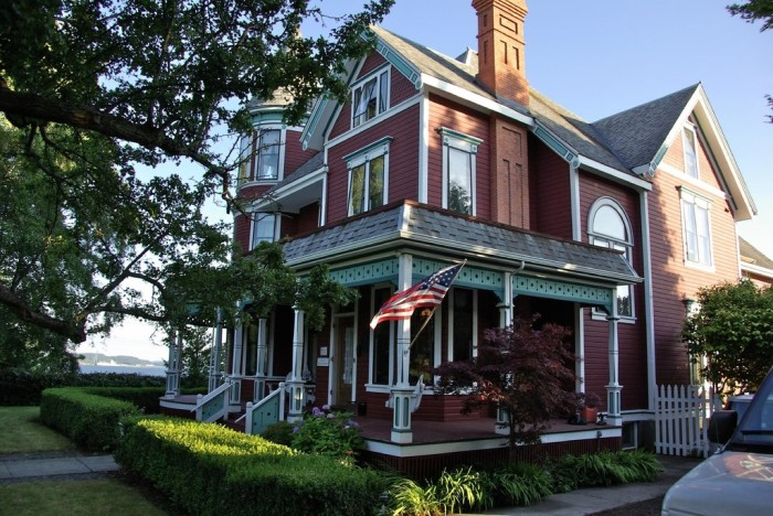 2. February: Spend a weekend at a bed and breakfast in Port Townsend.