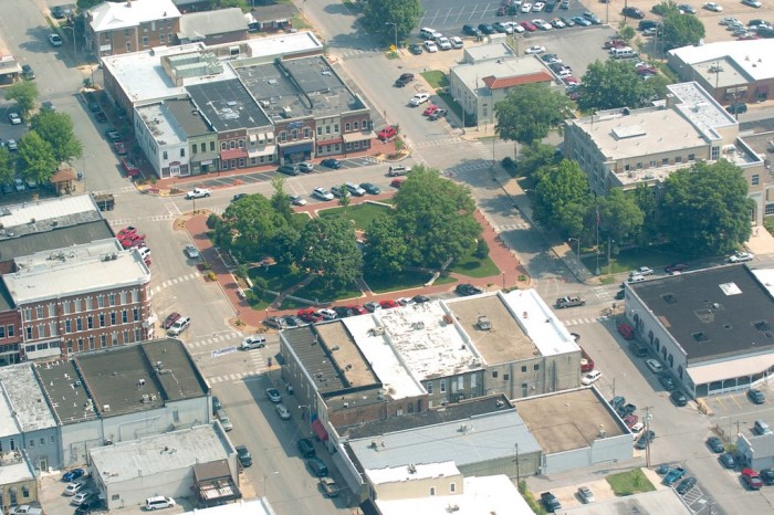 10. Bentonville From Above