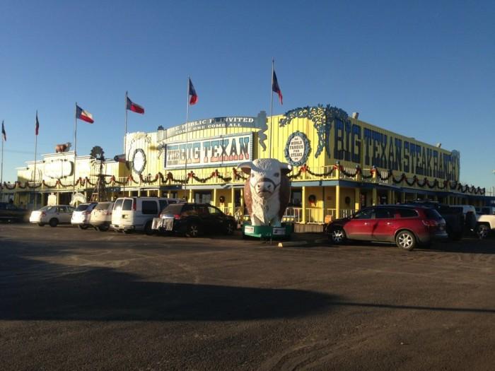 10. Big Texan Steak Ranch (Amarillo)