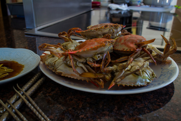 5. Or attend the World Famous Blue Crab Festival in Little River and get them served up hot!