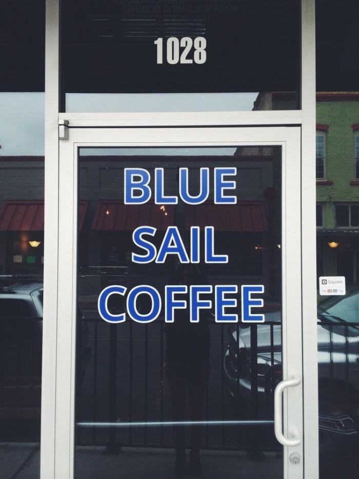 15. Blue Sail Coffee